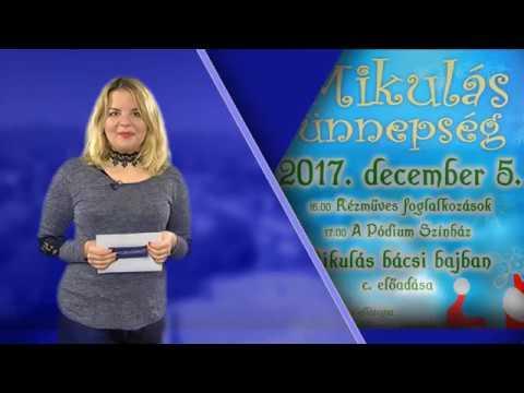 TV Budakalász / Kultúrkörkép / 2017.11.30.