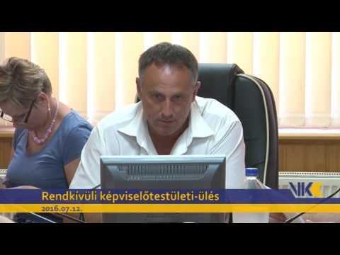 VKC Televízió / Rendkívüli képviselőtestületi-ülés/ 2016.07.12.