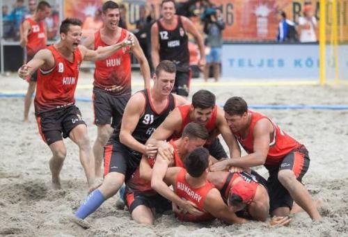 Negyedik helyezések a strandkézilabda-világbajnokságon