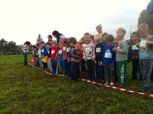 Óvodások mezei futóversenye