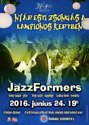 Jazz Formers a Lampionos kertben