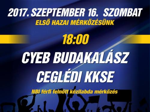 CYEB Budakalász: Szeptemberben kétszer is hazai pályán játszanak a fiúk