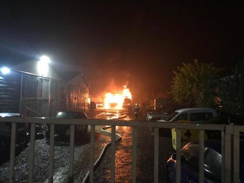 Pomázi Ipartelep: 100 milliós kár keletkezett a hétvégi tűzben