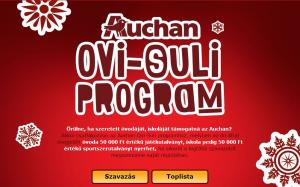 Minden intézmény csatlakozott az Auchan Ovi-Suli programjához