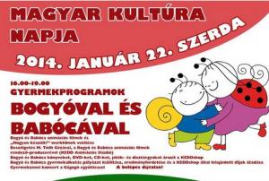 Nagyszabású programsorozat a Magyar Kultúra Napján