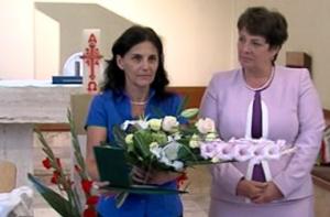 Paulheim Rita kapta a Budakalászért Emlékérmet