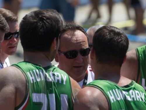 Sikeresen kezdett a magyar férfi válogatott a Strandkézilabda-világbajnokságon
