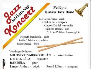Jótékonysági Jazz koncert lesz