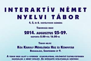Interaktív nyelvi tábor