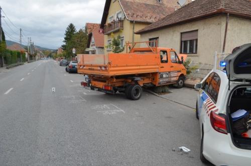 Két autó ütközött össze hétvégén a József Attila úton