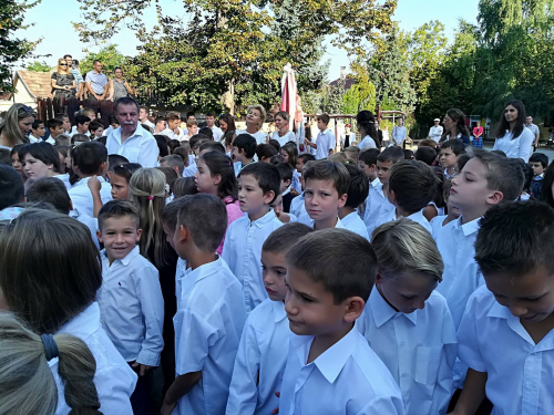 A budakalászi iskolákban is elkezdődött a tanév