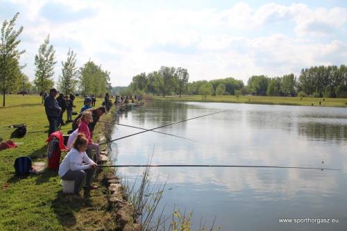 Vasárnap horgászversenyt rendeznek az Omszk-tónál