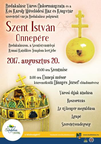 Szent István Ünnepe Budakalászon